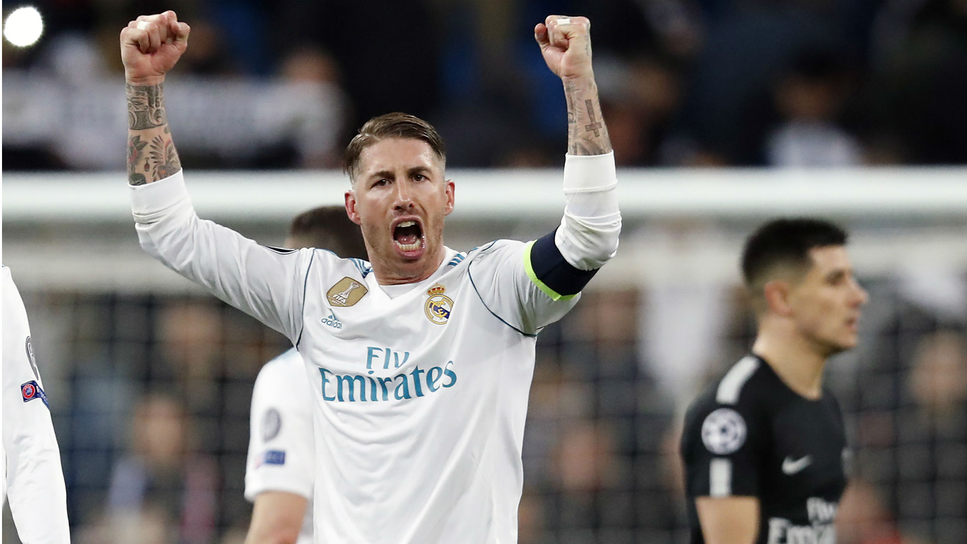 I will never forget madrid 3 1 win over psg ramos - Sergio madrid ...