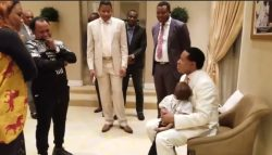 Breaking! Baby Elo Ogidi reunites with parents, meet Pastor Chris