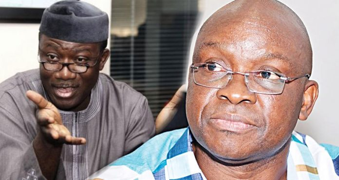 Image result for Why I won't attend Fayemi inauguration – Fayose