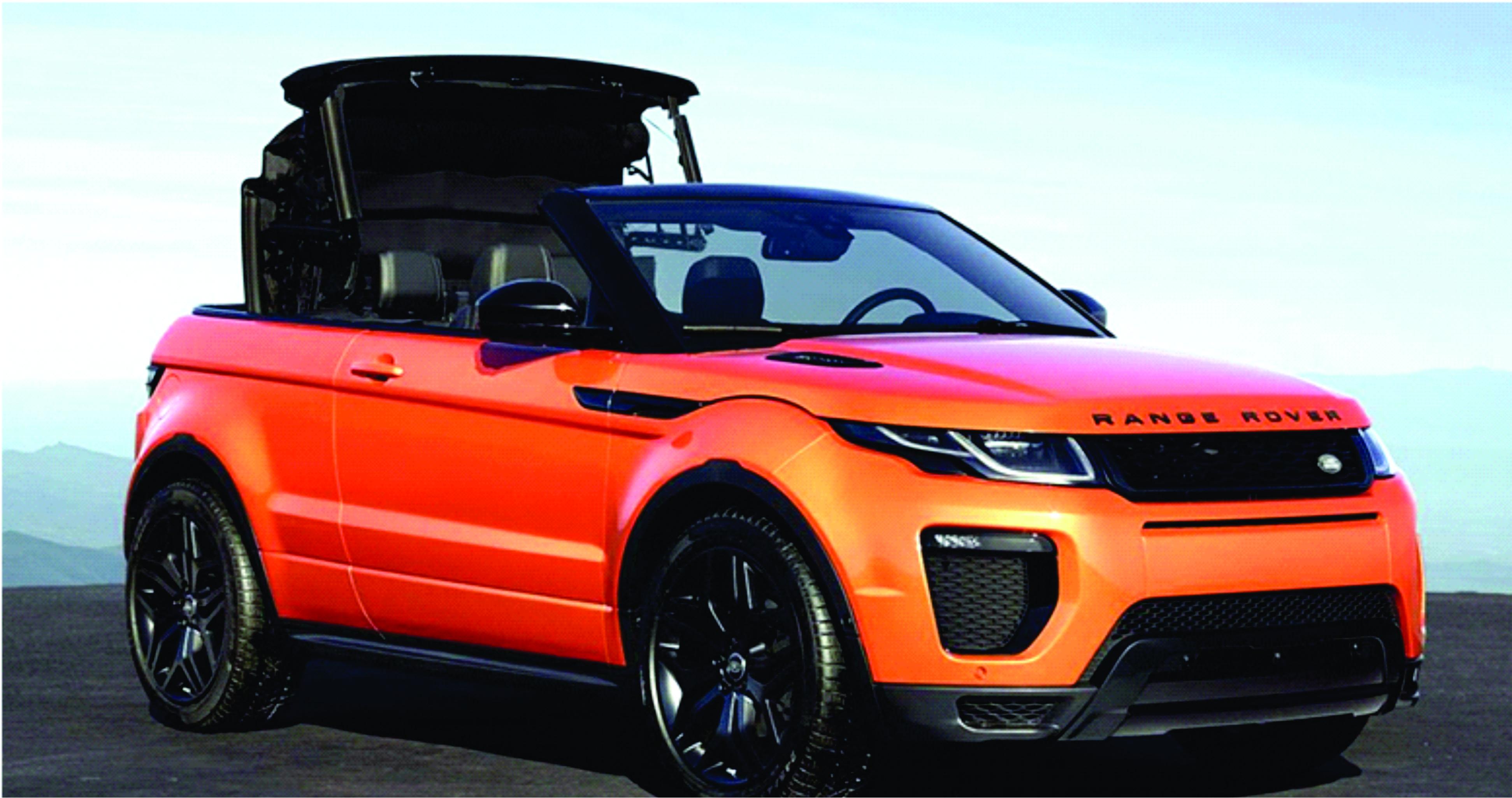 Range Rover Evoque …world s first luxury SUV convertible
