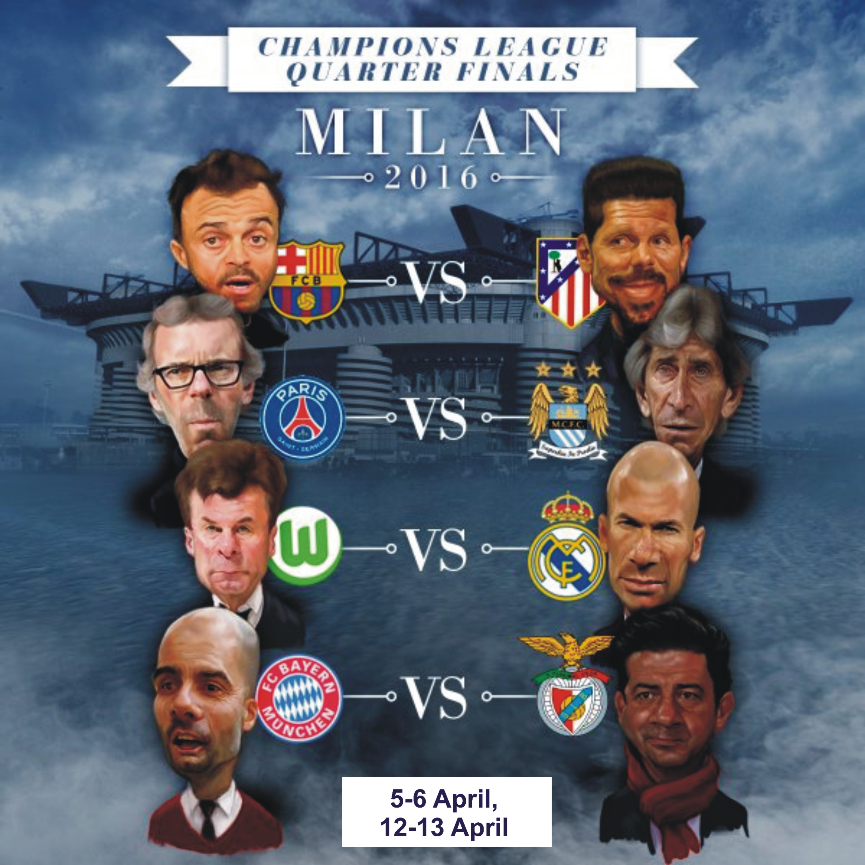 Champions League Quarter Final Prediction National Daily Newspaper