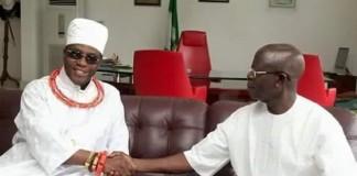 Oshiomhole is Edo messiah, says Crown Prince