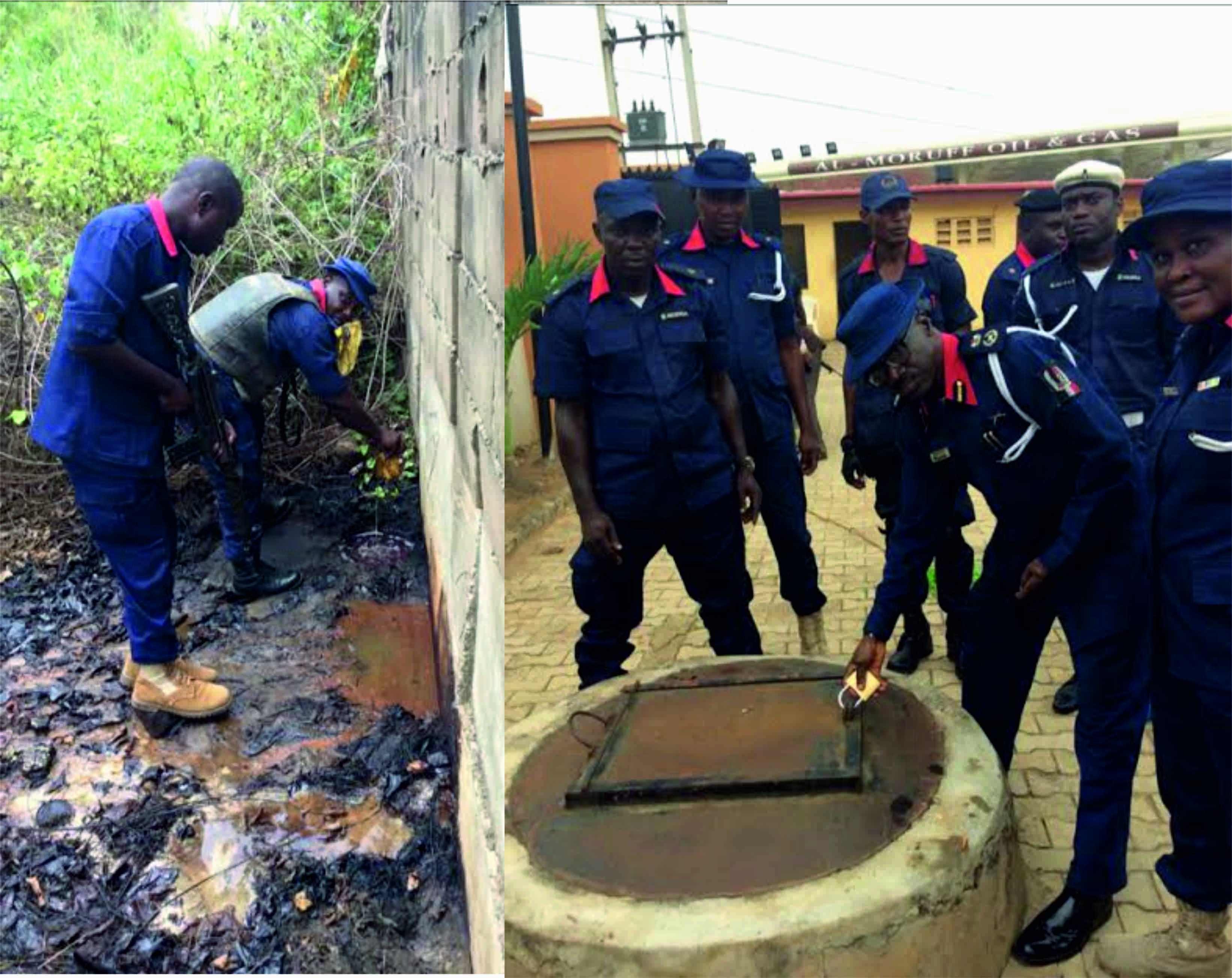 NSCDC uncovers oil spillages in estates, church in Lagos   National