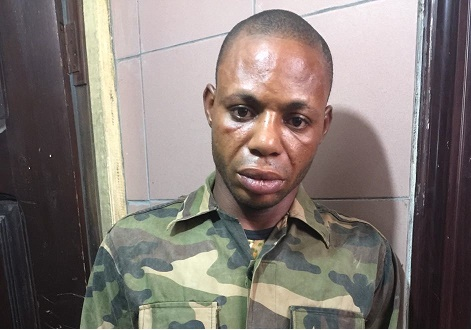 Soldier in Police net for stealing motorbikes