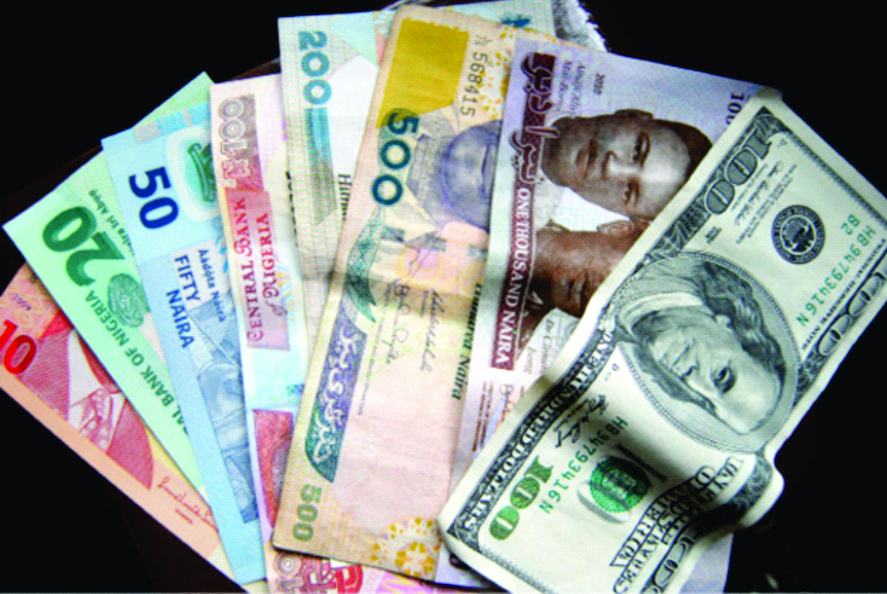 Naira Still Struggling To Converge Between Nafex Official Rates