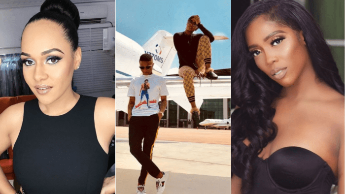 Is Tiwa Savage, Tania Omotayo fighting over Wizkid