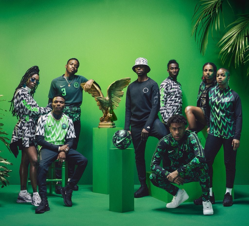e76f41889 Counterfeiters latch on to Super Eagles stylish kit