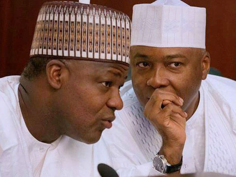 Image result for Saraki, Dogara in closed-door meeting with INEC chairman, Yakubu