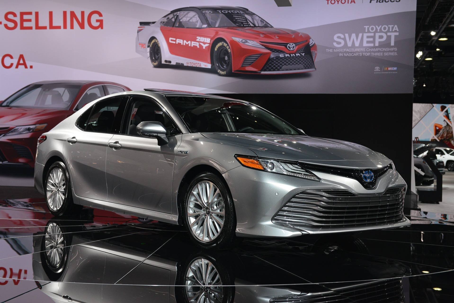 Tnl Unveils 8th Generation Toyota Camry In Nigeria
