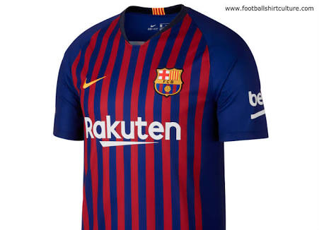 61853af85 Barcelona launches third strip for 2018 19 season