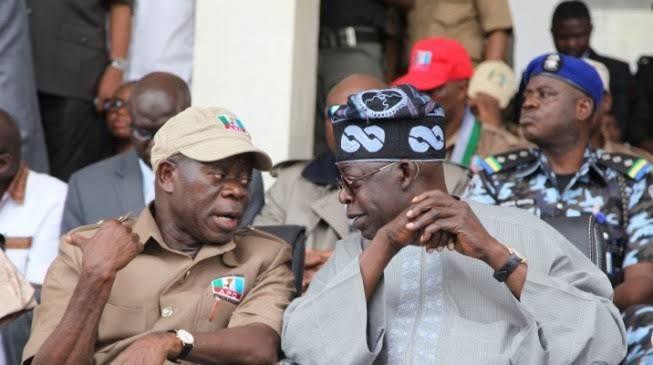 Tinubu joins Oshiomhole, APC squad in battle to unseat Obaseki | National  Daily Newspaper