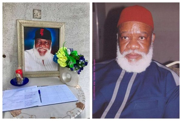 Image result for Ojukwu's first son, Debe, dies of high sugar