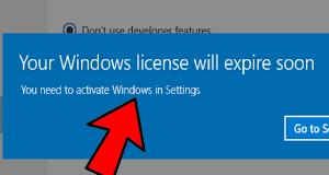 Windows 10 begins expiration warning updates