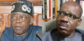 Tinubu joins Oshiomhole, APC squad in desperate battle to unseat Obaseki