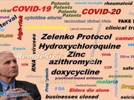 Open letter to Dr. Anthony Fauci regarding the use of hydroxychloroquine for treating COVID-19