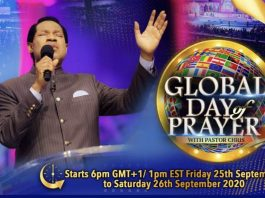 Global Prayer Day: A Call of the Spirit in these Last Hours