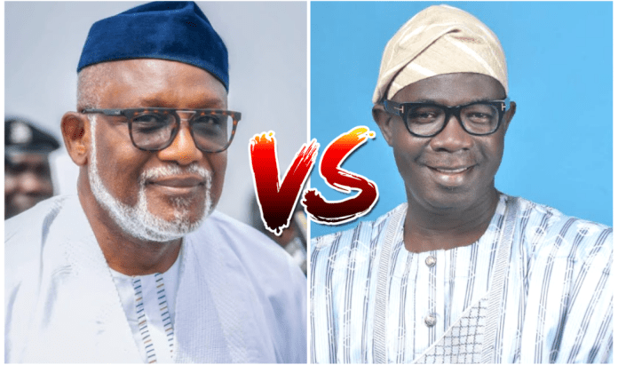Akeredolu devises fresh plot to crush Deputy Gov Agboola after election | Daily's Flash Secret Reporters Ondo state Governor Akeredolu And Deputy Agbola  Akeredolu devises fresh plot to crush Deputy Gov Agboola after election | Daily's Flash Secret Reporters Ondo state Governor Akeredolu And Deputy Agbola
