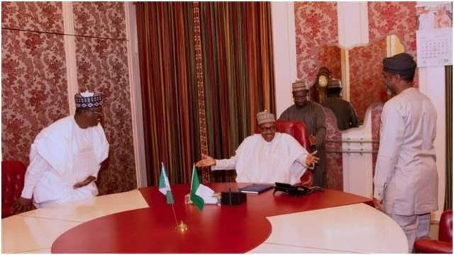 Buhari holds emergency meeting with Senate President Lawan, Speaker Gbajabiamila over #ENDSARS protests | Daily's Flash images 2020 10 18T163554  Buhari holds emergency meeting with Senate President Lawan, Speaker Gbajabiamila over #ENDSARS protests | Daily's Flash images 2020 10 18T163554