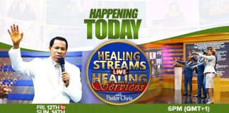 Fever-Pitch excitement as miracles precede Pastor Chris' Global Healing Crusade