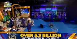 Over 5.3 Billion People Join Pastor Chris for First Global Day of Prayer in 2021