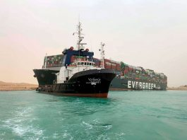 Egypt's Suez Canal diverts ships to old channel