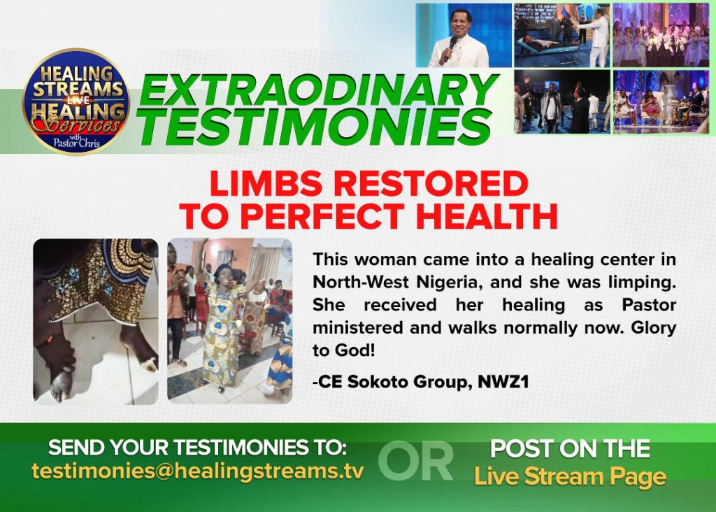 Healing Streams Live Healing Services with Pastor Chris