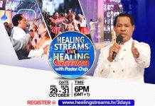 Pastor Chris Streams Live Healing Services to billions in a hurting world